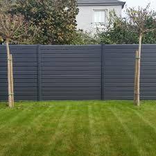 Backyard Fence Custom Composite Fence Panels Med Art Home Design Posters