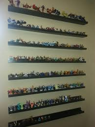 skylanders display perfect shelves are ribba picture frame