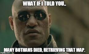 Many Bothans Died Meme - admiral ackbar relationship expert meme imgflip