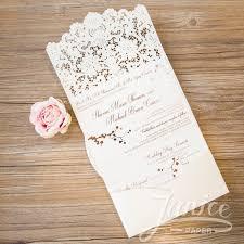 Wedding Invitations With Pockets Laser Cut Pocket Fold Wedding Invitations Stephenanuno Com