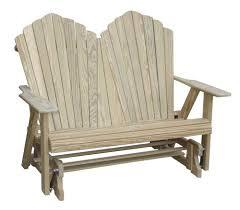 Presidio Patio Furniture by Amazon Com Adirondack Loveseat Glider Patio Gliders Garden
