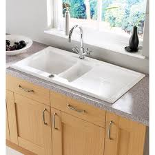 Ceramic Kitchen Sinks Kohler Whitehaven Undermount Farmhouse Apron Front Cast Iron 36 In