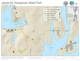 map of oregon state parks m honeyman state park printable trail map oregon state