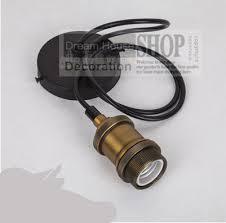 pendant light kit luxury bronze retro the brown pure aluminum pendant light kit