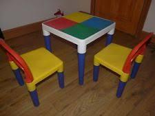Children S Lego Table Lego Table Ebay