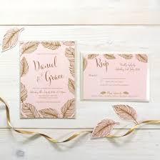 wedding invitations and rsvp tickled pink bespoke wedding invitation and rsvp bundle