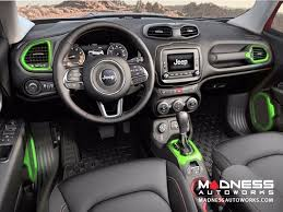 new jeep renegade green jeep jeep renegade speaker trim kit green madness autoworks