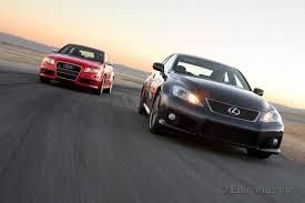 2008 audi rs4 reliability 2007 audi rs4 vs 2008 lexus is f comparison test