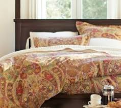 Green And Blue Duvet Covers Blue Green Paisley Bedding Foter