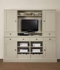 modular shaped wood wall mounted tv cabinet faced off tripod also