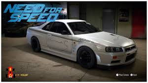 nissan gtr skyline 2015 need for speed 2015 drag build nissan skyline gt r r34 youtube