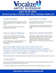 vu artist intensive 2015vocalize u