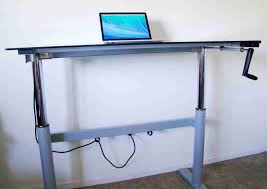 Adjustable Standing Desk Diy Diy Adjustable Standing Desk