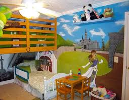 dessin chambre enfant chambre d enfant avec tapisserie de dessin imaginaire