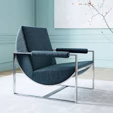 Teal Lounge Chair Bower Lounge Chair West Elm