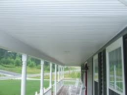 Pvc Beadboard Wainscoting - using vinyl beadboard soffit for porch ceilings
