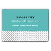 registry for bridal shower wedding registry cards paperstyle