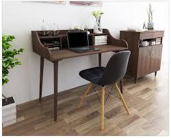 Solid Wood Computer Desk Computer Desks Office Home Bed Furniture Solid Wood Laptop Desk