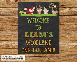 woodland creatures welcome sign woodland creatures chalkboard