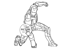 iron man coloring pages for kids printable free coloing 4kids com
