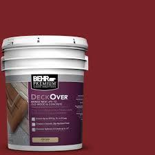 behr fan deck color selector behr premium deckover 5 gal sc 112 barn red solid color exterior