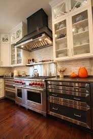 glass and stone backsplash kitchen traditional with 10 ceilings