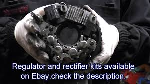 repair of alternator for hyundai santa fe trajet tuscon also kia