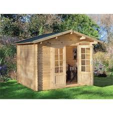 Summer House For Small Garden - summer houses u0026 log cabins at homebase co uk
