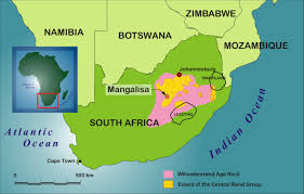 South Africa World Map Superior Mining International Corporation South Africa