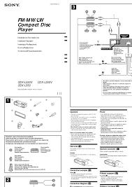 sony cdx gt57upw wiring diagram wiring diagrams