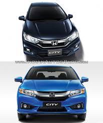 car models com honda city 2017 honda city vs 2014 hondacity oldvsnew cars daily
