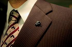 how to wear a lapel pin the idle