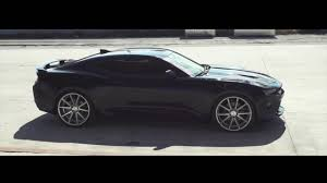 chevy camaro with rims 2016 chevrolet camaro ss on 22 vossen vfs 1 wheels
