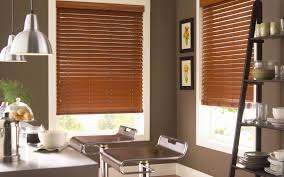 brown window blinds ideas interior traditional valance combined