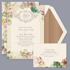 garden wedding invitations invitaciones por nupcial de david invitaciones de boda