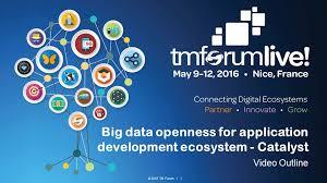 2016 tm forum 1 big data openness for application development