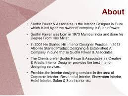 Associates Degree In Interior Design Interior Designer In Pune Sudhir Pawar U0026 Associates