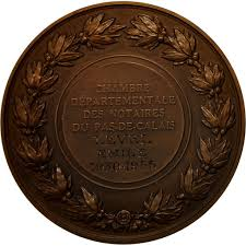 chambre des notaires pas de calais 552572 médaille chambre départementale des notaires du pas