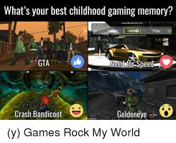 The Rock In Car Meme - what s your best childhood gaming memory wwwbandicam com car shop