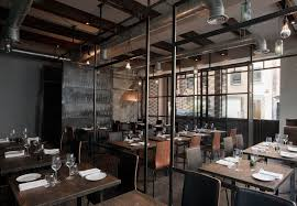 3 Stylish Industrial Inspired Loft This Is A Restaurant But It Would Look Cool At Home Industrial