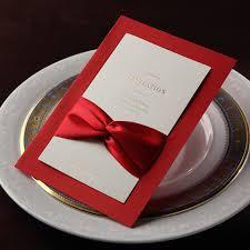Wedding Invitations With Ribbon Aliexpress Com Buy Luxurious Wedding Invitation Cards With
