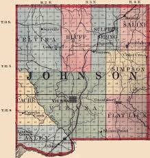 Counties In Illinois Map by Johnson County Illinois Maps And Gazetteers