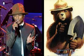 Only You Can Prevent Forest Fires Meme - only pharrell can prevent forest fires funny