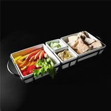 r ilait cuisine gibson elite gracious dining set of 4 serving tidbit dishes set w