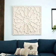wood medallion wall decor arts white wooden winsome