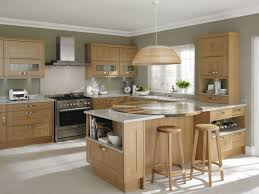 How To Paint Oak Kitchen Cabinets Colorful Kitchens Best Paint Color With Oak Cabinets Painting