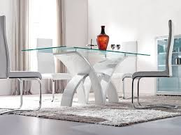 Brilliant Contemporary Glass Dining Room Furniture Dining Room - Brilliant small glass top dining table house