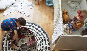 bébé dort dans sa chambre aménager 1 chambre pour 2 enfants bébé dans la chambre de