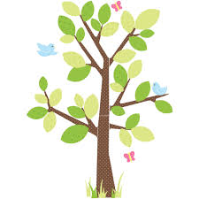 Giant Wall Stickers For Kids Roommates Kids Tree Peel And Stick Giant Wall Decal Walmart Com