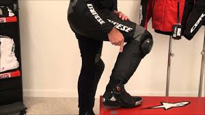 sport bike motorcycle boots dainese in boot explained from sportbiketrackgear com youtube